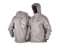 CHAQUETA IMPERMEABLE GRIS SHAD X0SR55