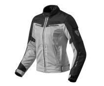 CHAQUETA REV'IT AIRWAVE 2 LADY PLATA NEGRO