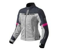 CHAQUETA REV'IT AIRWAVE 2 LADY PLATA FUCSIA