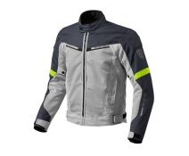 CHAQUETA REV'IT AIRWAVE 2 PLATA AMARILLO FLUOR