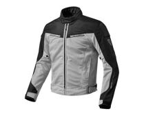 CHAQUETA REV'IT AIRWAVE 2 PLATA NEGRO
