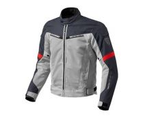 CHAQUETA REV'IT AIRWAVE 2 PLATA ROJO
