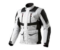 CHAQUETA REV'IT NEPTUNE GORE-TEX PLATA NEGRO
