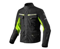 CHAQUETA REV'IT OUTBACK 2 BLACK NEON YELLOW