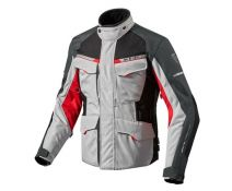 CHAQUETA REV'IT OUTBACK 2 SILVER RED