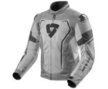 CHAQUETA REV'IT VERTEX AIR GRIS CLARO-NEGRO 3610