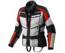 CHAQUETA SPIDI 4SEASON GREY/RED