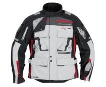 CHAQUETA DIFI SIERRA NEVADA PRO LIGHT GREY/BLACK/RED 25 OUTLET T.M,XL