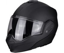 Casco Modular Scorpion Exo-tech Black Solid Matt