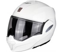 Casco Modular Scorpion Exo-tech White Solid