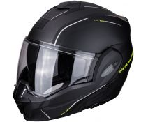 Casco Scorpion Exo-tech Time Off Matt Black-fluor
