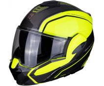 Casco Scorpion Exo-tech Time Off Fluor-plata