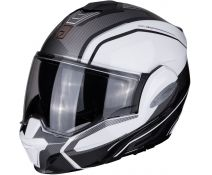 Casco Modular Scorpion Exo-tech Time Off White