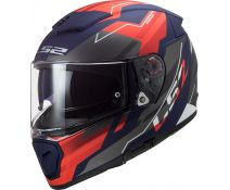 Casco Ls2 Breaker Ff390 Beta Matt Red Blue