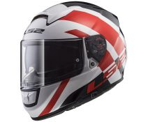 CASCO LS2 VECTOR FF397 TRIDENT WHITE RED