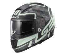 CASCO LS2 VECTOR ORION MATT BLACK LIGHT FLUORESCENTE