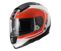 CASCO LS2 VECTOR WAKE WHITE BLACK RED