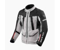 Chaqueta Rev'it Sand 4 H2O Plata Negro