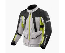 Chaqueta Rev'it Sand 4 H2O Plata Amarillo Fluor
