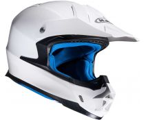Casco Off-road Hjc Fx-cross Blanco Brillo