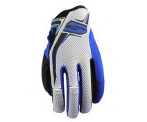 GUANTE FIVE MXF3 BLANCO-AZUL