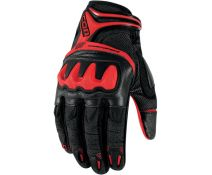 ICON OVERLORD RESISTANCE GLOVE BLACK-RED