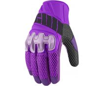 GLOVE ICON OVERLORD WOMAN MESH PURPLE