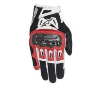 GUANTES ALPINESTARS SMX-2 AIR CARBON V2 BLACK-RED-WHITE