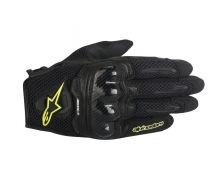 GUANTES ALPINESTARS SMX-1 AIR BLACK-FLUOR T.2XL