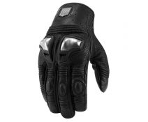 GUANTES ICON RETROGRADE BLACK T.XL