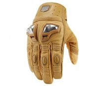 GUANTES ICON RETROGRADE TAN T.S