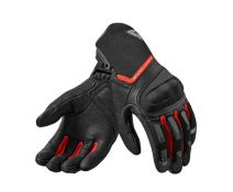 GUANTE REV'IT STRIKER 2 NEGRO ROJO