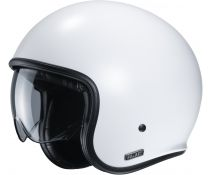 Casco Jet HJC V30 Blanco Semi Mate