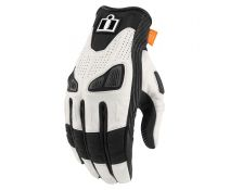 GUANTES ICON AUTOMAG 2 WHITE