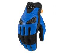 GUANTES ICON AUTOMAG 2 BLUE