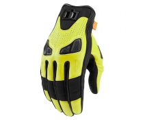 GUANTES ICON AUTOMAG 2 YELLOW Hi-Vis