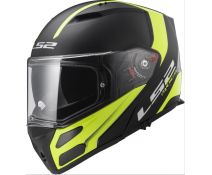 LS2 FF324 METRO RAPID BLACK MATT - YELLOW