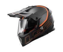 CASCO LS2 PIONEER MX436 ELEMENT MATT TITANIUM BLACK