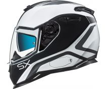 Casco Nexx Sx.100 Urban Popup White-black