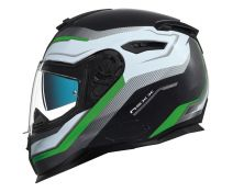 Casco Nexx Sx.100 Urban Mantik Black-green Matt