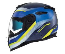 Casco Nexx Sx.100 Urban Mantik Blue-neon Yellow Matt