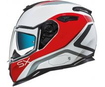 Casco Nexx Sx.100 Urban PopUp Red