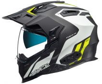 Casco Trail Nexx X.Wed 2 Carbon VAAL White Neon Matt