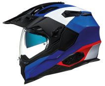 Casco Trail Nexx X.wed 2 Duna Blanco-azul-rojo