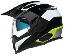 Casco Trail Nexx X.wed 2 Duna Negro Blanco Amarillo Fluor