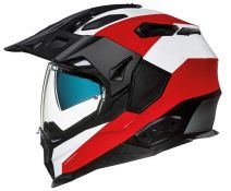 Casco Trail Nexx X.wed 2 Duna Blanco-rojo