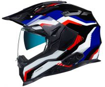 Casco Trail Nexx X.Wed 2 Columbus Blue-Red-Black