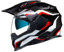 Casco Trail Nexx X.Wed 2 Columbus Grey-Red-Black