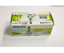 BOMBILLA PHILIPS H11 LONGLIFE LIFETIME X3
