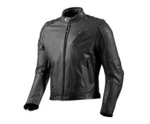 CHAQUETA REV'IT PIEL REDHOOK BLACK T.58